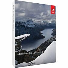 Adobe Photoshop Lightroom 6, DVD-ROM, deutsch