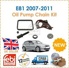 For BMW E81 116i 120i 2007-2011 Febi Bilstein Oil Pump Chain Kit New
