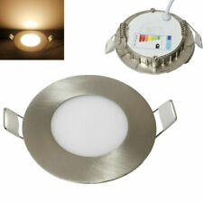 3W LED Panel Leuchte Dimmer Einbaustrahler Deckenleuchte Einbaupanel Lampe A++