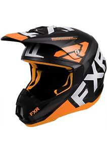 FXR TORQUE TEAM HELMET - SNOWMOBILE - ORANGE - Size  L - XL - 2XL -  New
