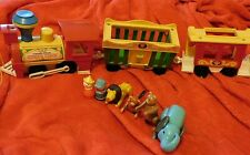 Train Fisher Price 1973 - Cavahel Vintage