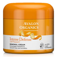 Avalon Organics Intense Defense Renewel Cream with Vitamin C 57g