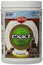 Kaytee Exact Hand Feeding High Fat Baby Bird Food, 18-oz jar