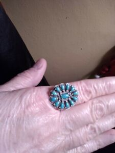 AMERICAN WEST STERLING SILVER TURQUOISE RING