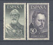 1953 LEGAZPI Y SOROLLA CON CERTIFICADO CEM EDIFIL 1124/25 ** MNH  TC12104