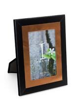 "Lovely Chic Modern Black and Copper Photo Frame 4"" x 6"" IF11446"