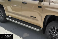 """6"""" iBoard Running Boards Nerf Bars Fit 07-18 Toyota Tundra CrewMax Cab"""