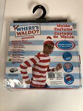 Where's Waldo Adult Costume Large/XL.