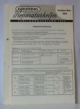 Documentation for Grundig Pocket Boy 202