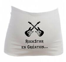Bandeau Grossesse Maternité Bébé Rock Rockstar en Création Future maman enceinte