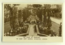 tp7008 - London - The Court of Fountains, Derry Gardens at Kensington-  Postcard