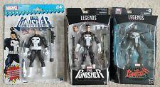 Marvel Legends Punisher 3 figure lot - War Machine + Retro + Walgreens exclusive