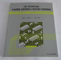 Workshop Manual Toyota Yaris/Echo Verso Electric 08/1999