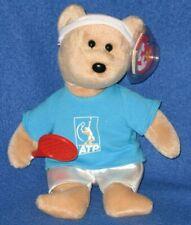 TY FEDER-BEAR (ROGER FEDERER TENNIS BEAR BEANIE BABY) - MINT with MINT TAG