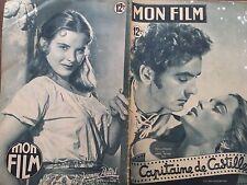 """MON FILM 1949 N 163 """"CAPITAINE DE CASTILLE """" avec TYRONE POWER et JEANNE PETERS"""