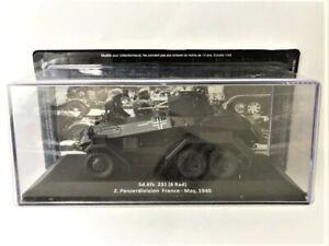 Military Cars Of II World War, Sd.kfz. 231 (6 Rad) 2. Pzdiv. France 1940, No Mag