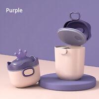 Non-Spill Milk Powder Box Baby Container Portable Food Storage Dispenser Handy