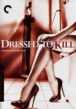 Dressed to Kill (DVD, 2015, 2-Disc Set, Criterion Collection) New