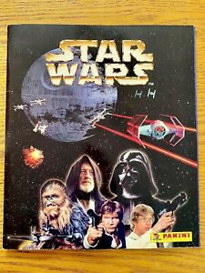 STAR WARS STICKER ALBUM   PANINI 1996 + Poster + Stick N Lift Book