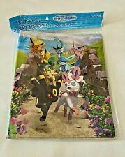 More details for pokemon center japan - eevee heroes eeveelutions a4 ring binder card folder