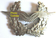 RFA -  Aviation / Luftwaffe / Air Force - Insigne de  casquette en métal