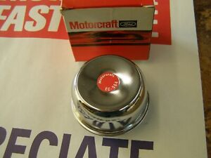 NOS 1963 - 1968 Ford Galaxie 500 XL Chrome Oil Cap 1964 1965 1966 1967