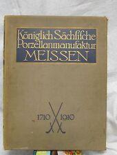 Dissertation Programme of the Meissen 1910