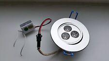 LED  Downlight  3x 1W  Epistar ww  30°C