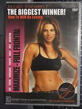 Jillian Michaels, Biggest Winner, Maximise - Full Frontal, Exercise (DVD, R4) d2