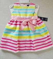 Chaps by Ralph Lauren Toddler Girl Classic Dress & Panties 24M New