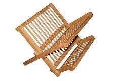 Totally Bamboo Premium Collapsible Compact Dish Drying Rack for Smaller Space...