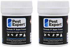 Flea Bomb Foggers For House Treatment Pest Expert Formula 'P' Supersize 2 x 11g
