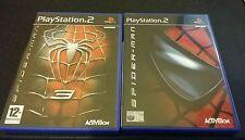 PLAYSTATION 2 GIOCHI SPIDERMAN e Spiderman 3 il signore degli anelli due torri libero