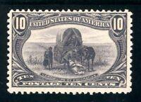 USAstamps Unused VF US 1898 Trans-Mississippi Hardship Scott 290 OG MNH