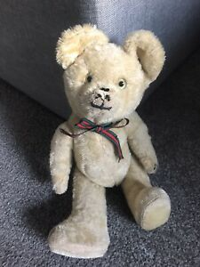 "RARE 12"" ANTIQUE SCHUCO Diem Mohair BEAR EXCELLENT CONDITION Squeaker!"