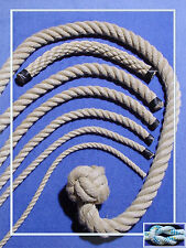 Polyhanfseil 16 mm, Kunsthanfseil wetterfest, flexibel, griffig, Poly-Hanf Seil