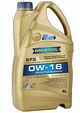 RAVENOL EFE 0W-16 Motor Oil – Fully Synthetic Extra Fuel Economy API SN – 4L