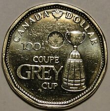 Canada 2012 100th Grey Cup dollar loonie coin