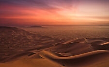 Incorniciato stampa-assurda HOT DESERTO SAHARA Africa (PICTURE POSTER SABBIA CALDA SOLE ARTE