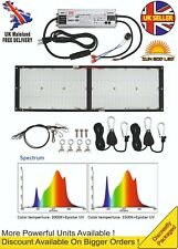 New 240W Samsung LM301H HLG Type Quantum Board LED Grow Light IR UV Big Yeilds