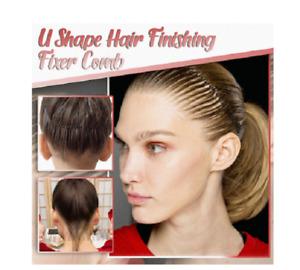 U Shape Hair Finishing Fixer Comb US
