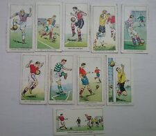 DC THOMSON Football Tips and Tricks wizard Hotspur Rover 10 cards 1959