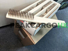 """(4) Stainless Steel Coarse Wire Brush 8"""" - Welding Rust Scale Removal Deburring"""