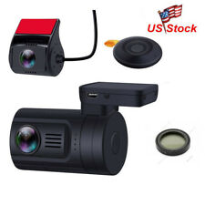 Mini 0906 Dual 1080P Lens Car Dash Camera GPS DVR Cam Remote Control+CPL Filter