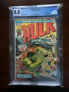 Incredible Hulk #180 CGC 8.0 1st Cameo/Appearance of WOLVERINE Marvel