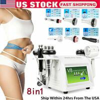 8in1 Cavitation Vacuum Anti-aging Multipolar RF BIO Hammmer Body Slim Machine