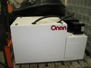 Onan 11 KVA marine generator