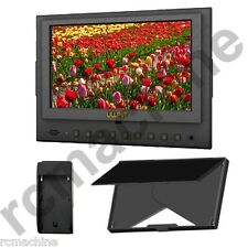 """Lilliput 7"""" 5D-II/P PEAKING, Zebra Exposure Filter HDMI IN & OUT Monitor 5D3 III"""