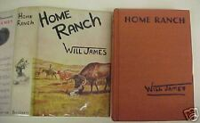 Home Ranch, Will James, 2nd Edition, copyright 1936, DJ