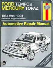 Ford Tempo Mercury Topaz 1984-1994 Haynes Automotove Repair Manual 94
